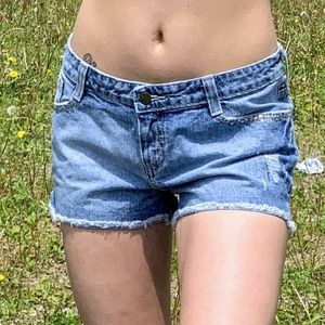 Lilu Embellished Jean Shorts